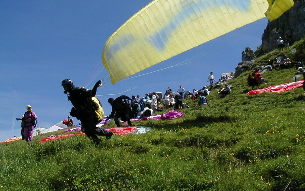 Paragliding and hang gliding - Laberbergbahn in Oberammergau