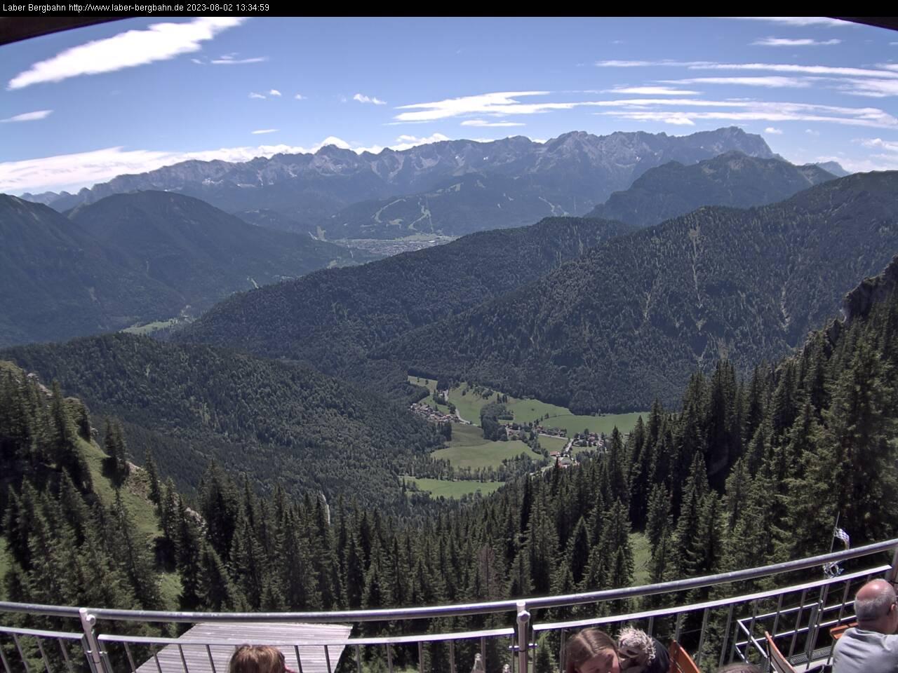 Webcam Skigebiet Oberammergau - Laber Oberbayern